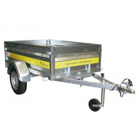 Remorque basculante 1,50m 500kg ESPACE EMERAUDE EM151