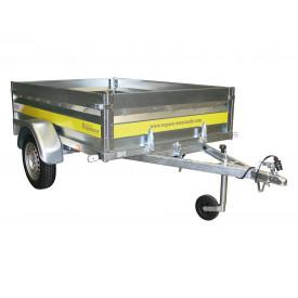 Remorque basculante 2m 500kg ESPACE EMERAUDE EM201