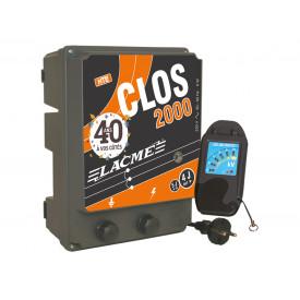 Électrificateur secteur 4 Joules + 1 testeur offert
