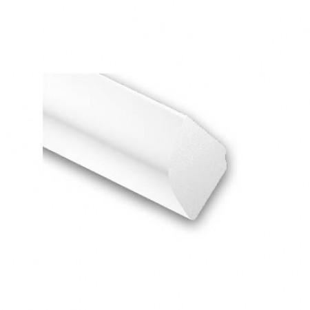 1/4 rond PVC blanc 12x12mm L.2,60m