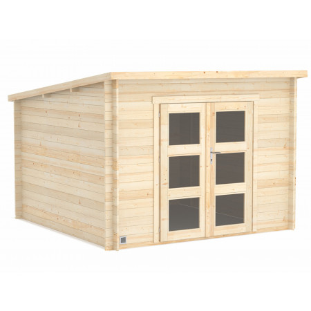 Abri de jardin bois Daintree 8,9m²