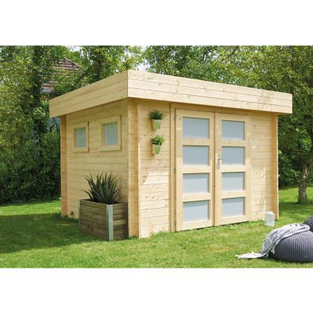 Abri de jardin bois Kivik 7,99 m²