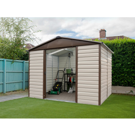 Abri de jardin métal Yardmaster 11,39 m²