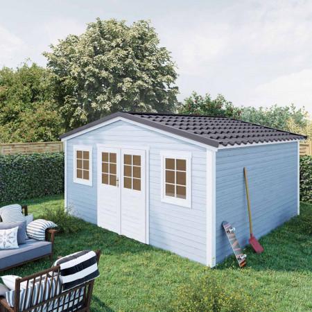 Abri de jardin Shelty Plus 18m²