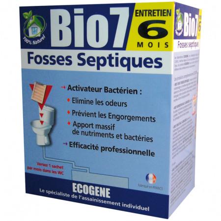 Activateur bactérien fosses septiques BIO7