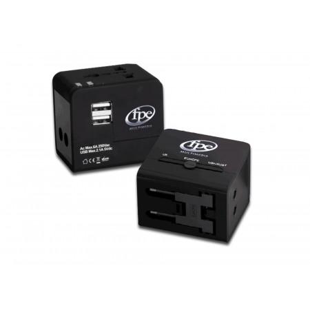 Adaptateur secteur universel + USB