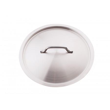 Couvercle traiteur inox Ø24cm