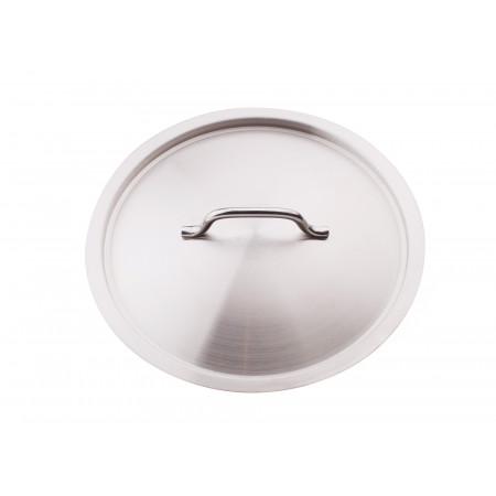 Couvercle traiteur inox Ø36cm