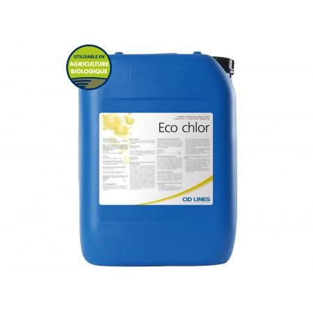 Alcalin chloré machine à traire 25Kg