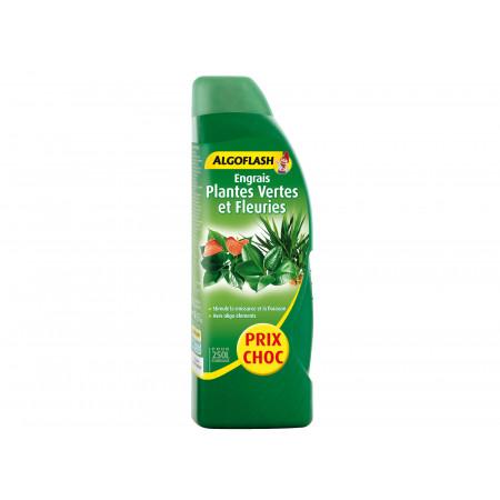 Engrais liquide plante verte et fleurie 800ml + 25% ALGOFLASH