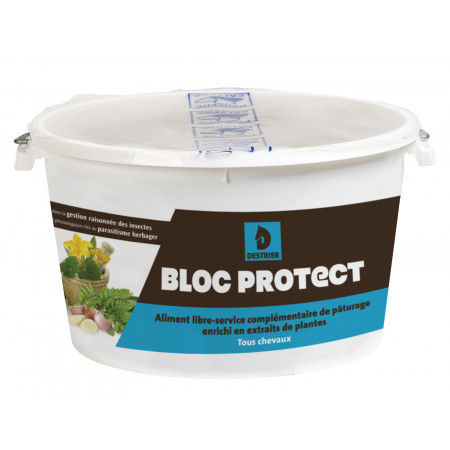 Aliment cheval Destrier Bloc Protect 15kg