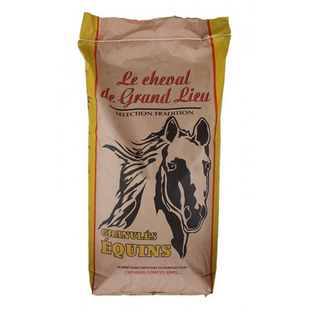 Aliment cheval Grand Lieu 25kg