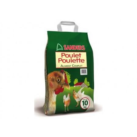 Aliment complet poulet et poulette 10kg SANDERS
