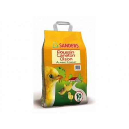 Aliment complet poussin, caneton, oison 10kg SANDERS