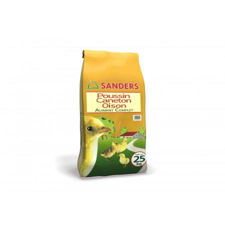 Aliment complet poussin, caneton, oison 25kg SANDERS