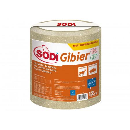 Aliment minéral pour Gibier SODIGIBIER 12kg