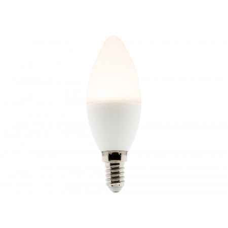 Ampoule LED dimmable flamme 5,2W E14