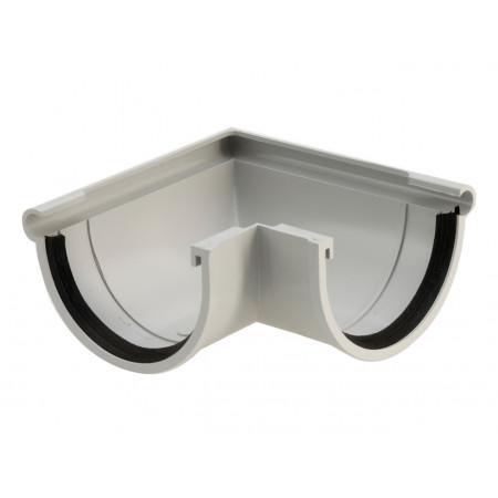 Angle extérieur 90° PVC D33 Gris
