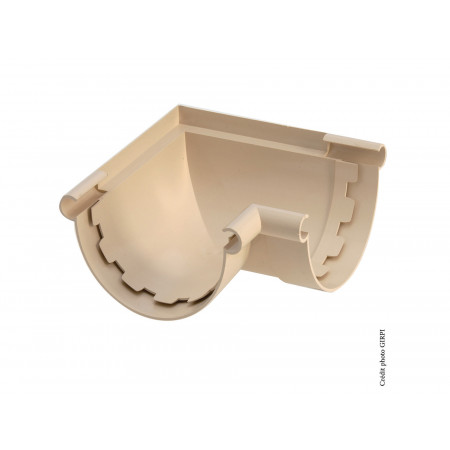 Angle mixte PVC Sable