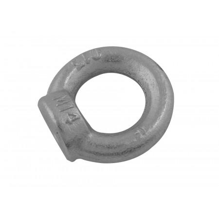 Anneau de levage femelle acier estampé Ø10mm