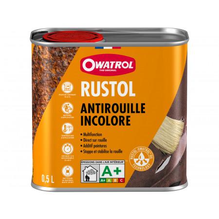 Antirouille incolore multifonction RUSTOL OWATROL 0,5L