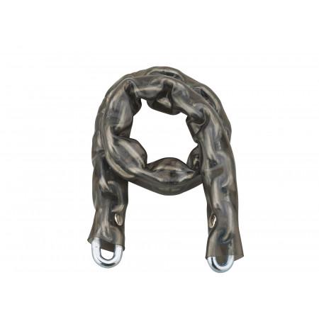 Antivol chaîne acier gainée PVC Ø6mm 60cm