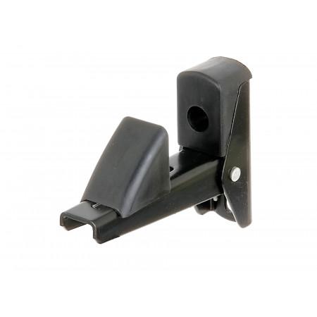 Arrêt de volet et porte alu noir 15-50mm GAH ALBERTS