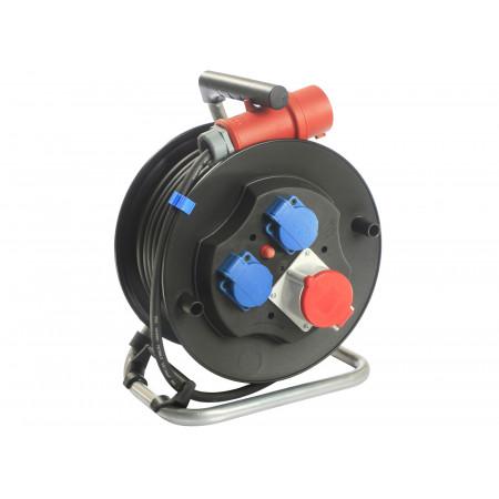 Enrouleur câble électrique 20m H07RNF 5G2,5
