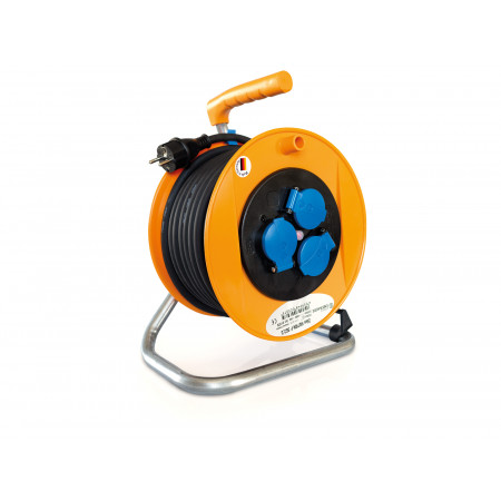 Enrouleur câble électrique 25m HO7RNF Espace Emeraude