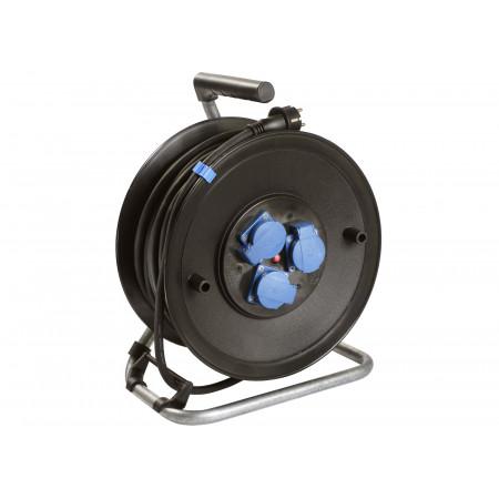 Enrouleur câble électrique 3 prises H07RN-F 3G2.5 25m