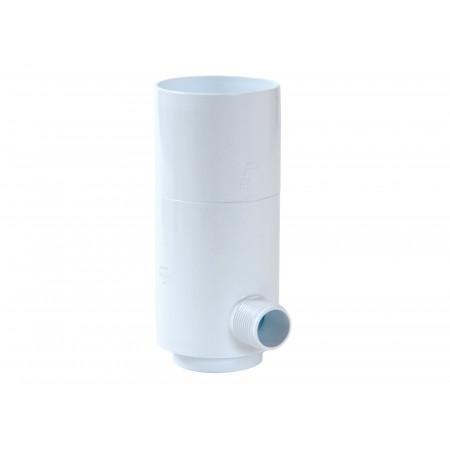 Collecteur d'eau à fermeture D80 Blanc