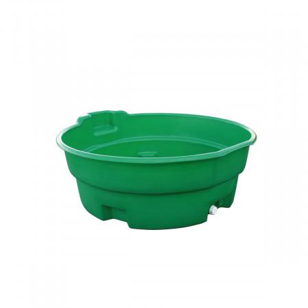 Bac de pâturage de 600 L vert