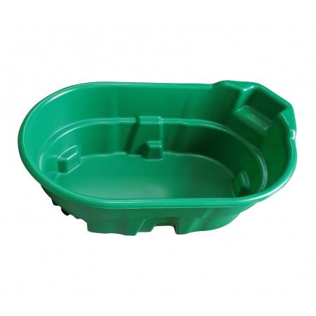 Bac de pâturage oval 600L vert INTERBAC