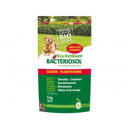 Eco fertilisant plantation arbuste 3kg BACTERIOSOL