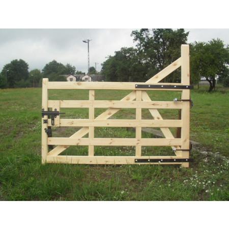 Barrière en bois 120x400cm type C