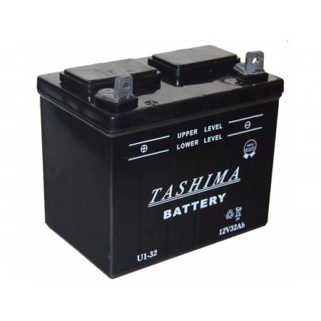 Batterie 12V 32Ah U1L32 + à gauche