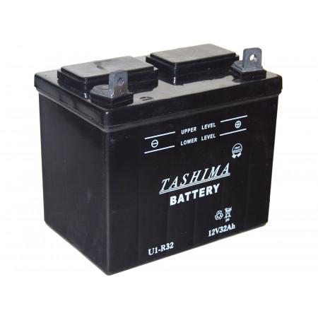 Batterie 12V 32Ah U1R32 + à droite