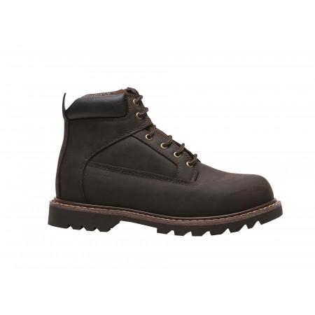 Chaussures de travail hautes Dragon marron