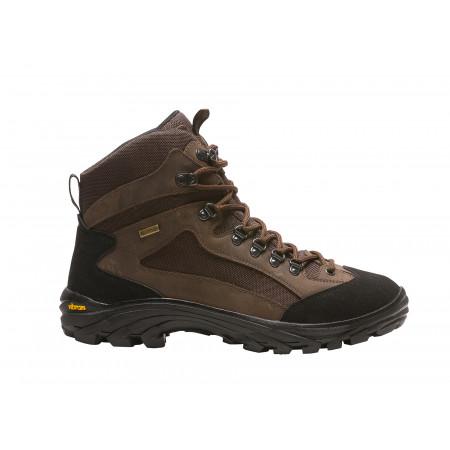 Chaussures de travail hautes BAUDOU Peak kaki