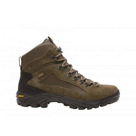 Chaussures de travail hautes BAUDOU Rock marron