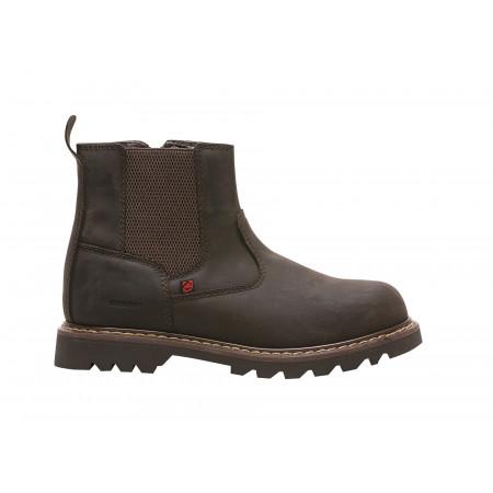 Chaussures de travail hautes Docker marron