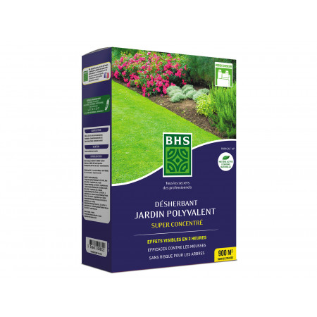 Désherbant jardin polyvalent super concentré 900ml BHS