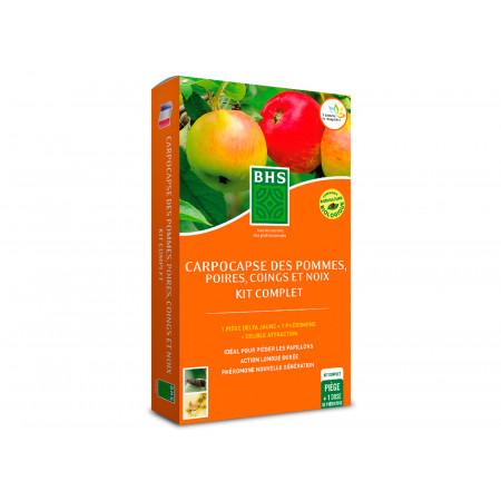 Kit 1 phéromone Carpocapse des pommes poires BHS