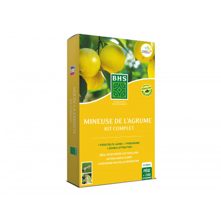 Kit 1 phéromone Mineuse de l'agrume BHS