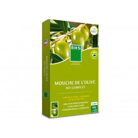 Kit 1 phéromone Mouche de l'olive BHS