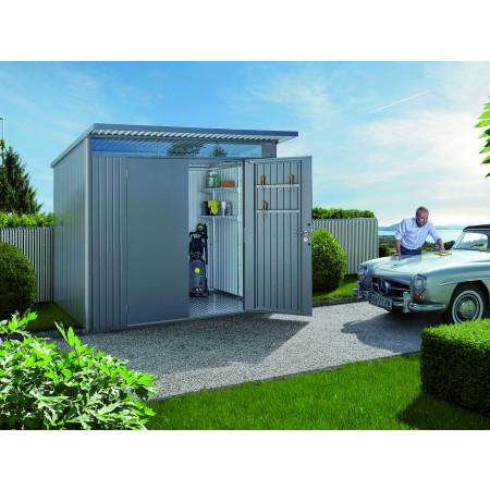 Abri de jardin métal AvantGarde® A5 5,72m² porte double