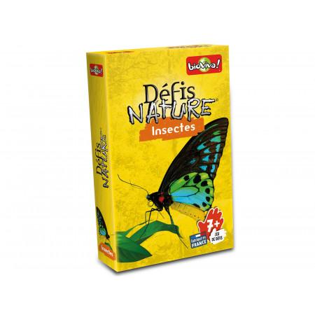 Jeu de cartes Défis Nature - Insectes