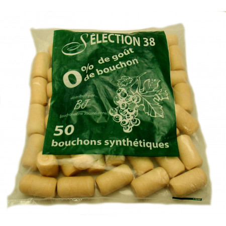 Bouchons synthétiques 1 an X50