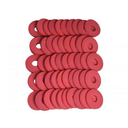 Rondelles pour bouchons mécaniques X100