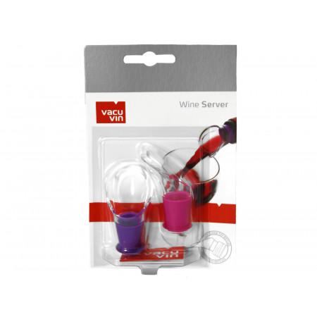 Verseurs antigouttes rose/violet X2